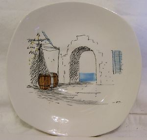 Midwinter 'Cannes' 5.5 inch Saucers - 1960s - SOLD